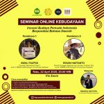 Bincang Budaya Nusantara